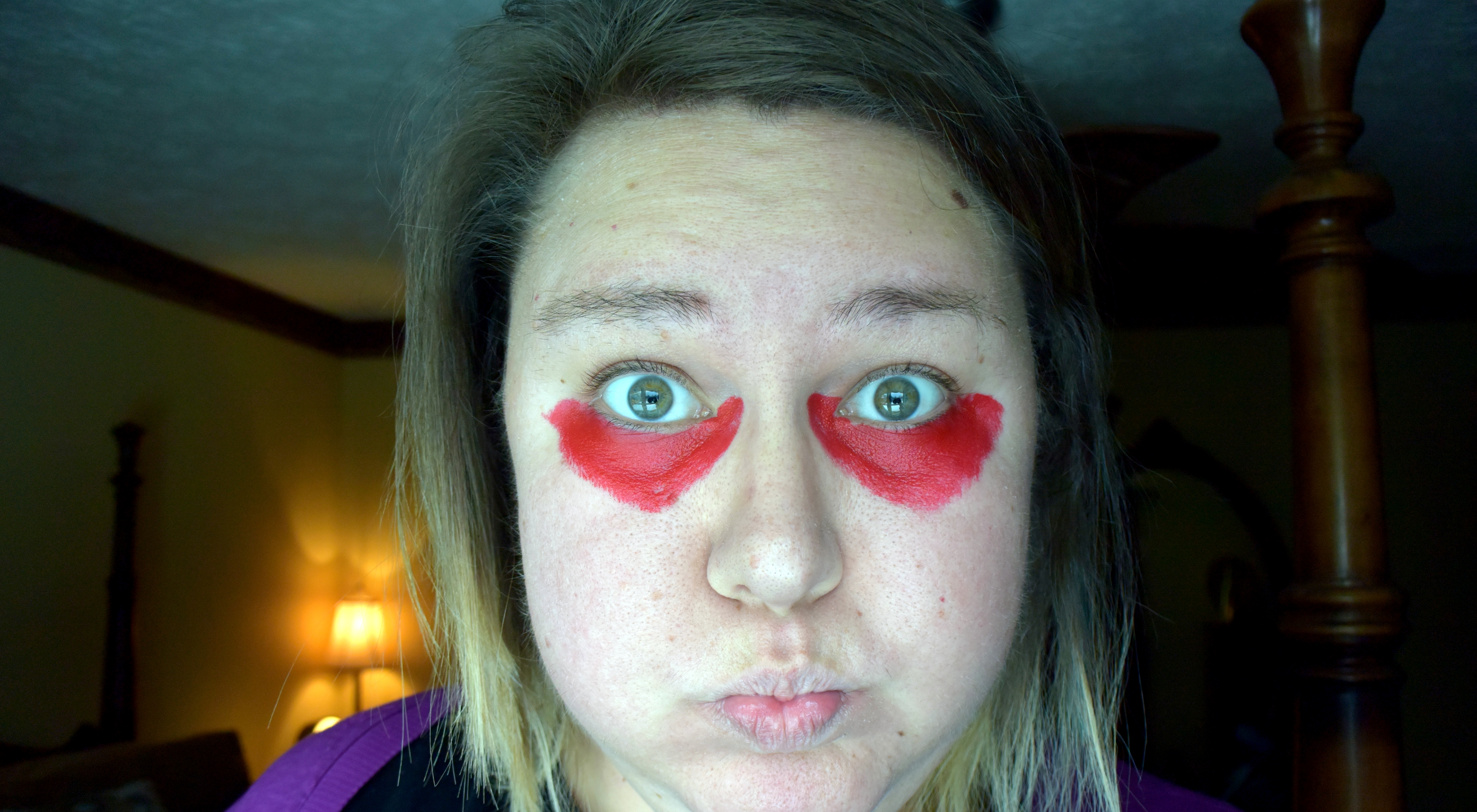 Does Red Lipstick Cover Dark Under Eye Circles? : BlogHer