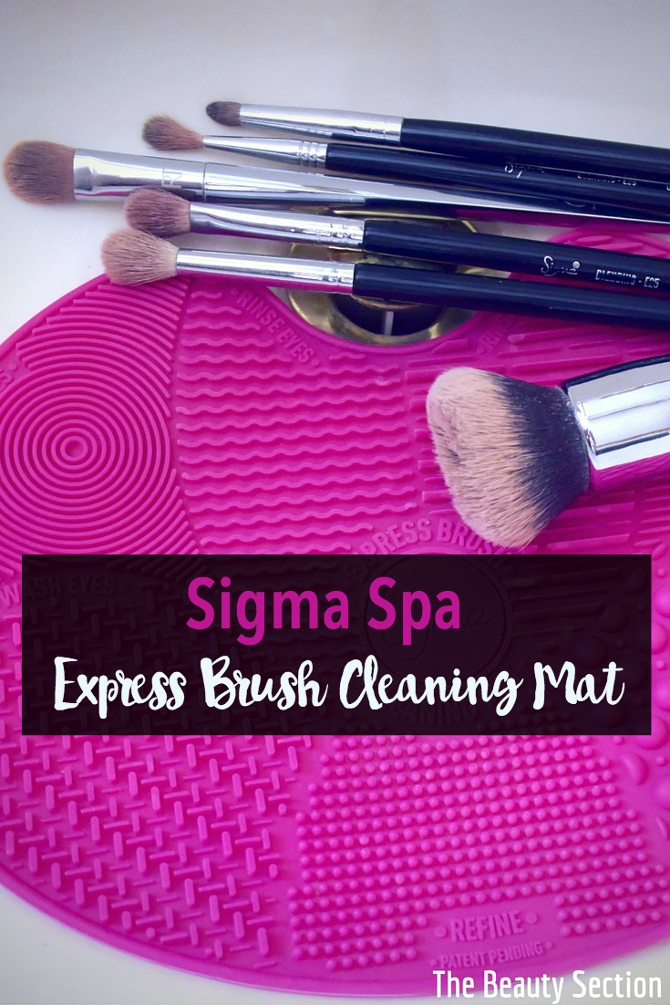Sigma Spa Express Brush Cleaning Mat The Beauty Section