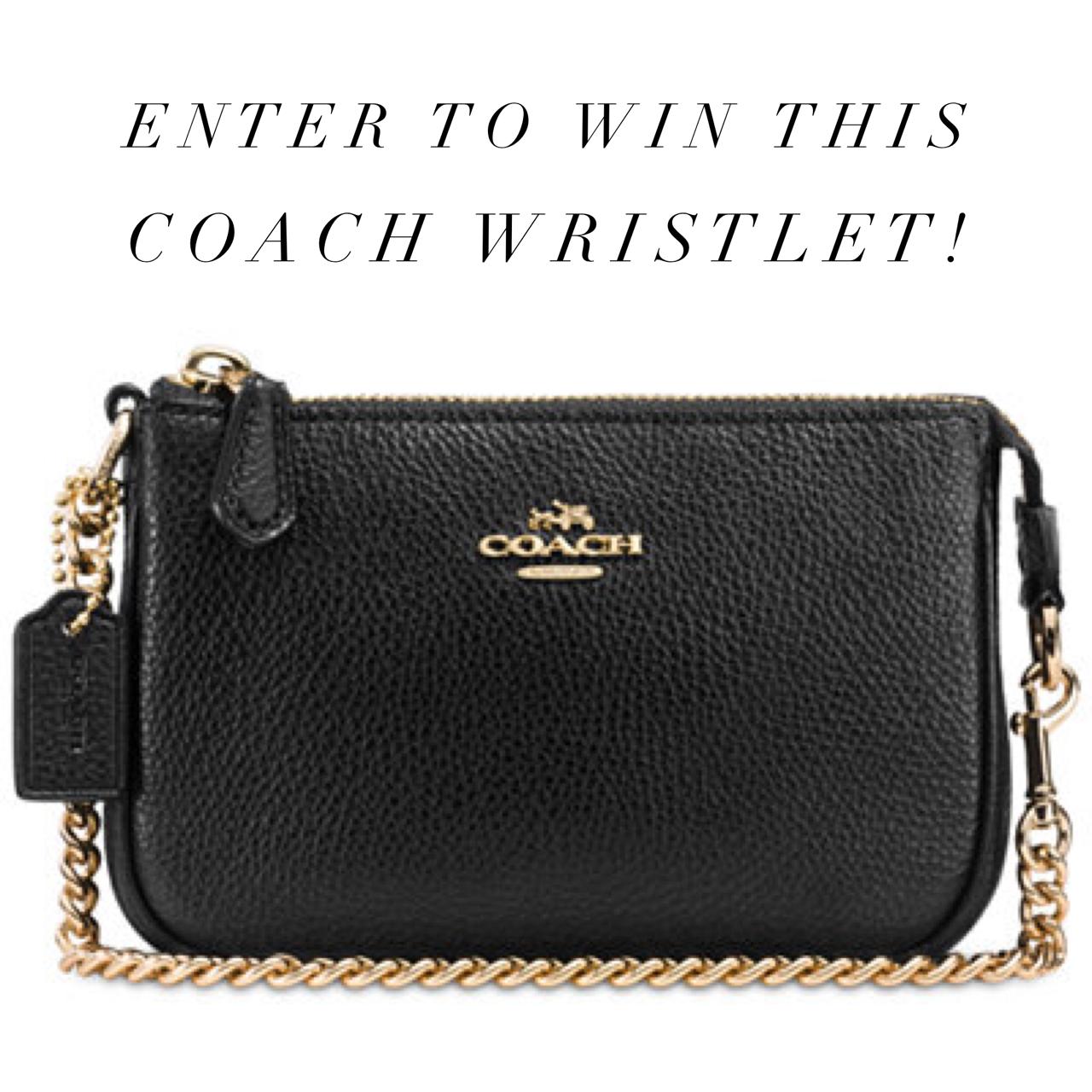 Coach Wristlet Giveaway!!