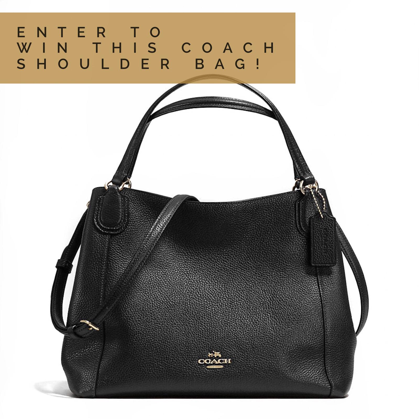 Coach Shoulder Bag GIVEAWAY!