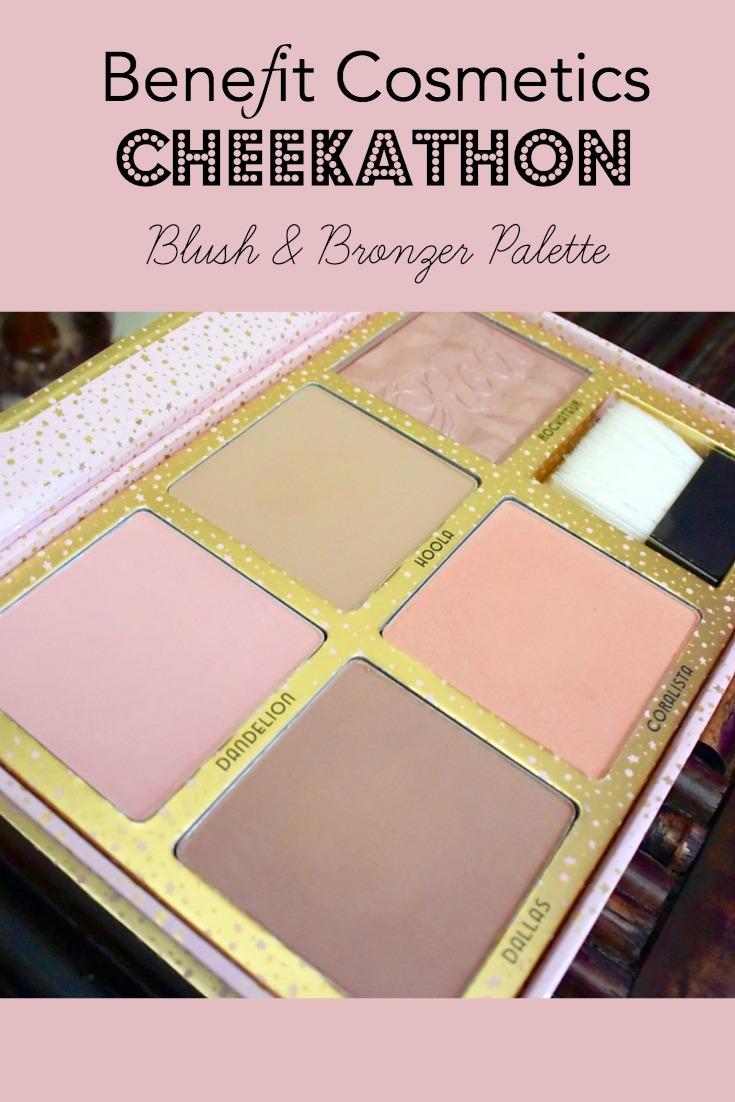Benefit Cosmetics Cheekathon Blush & Bronzer Palette