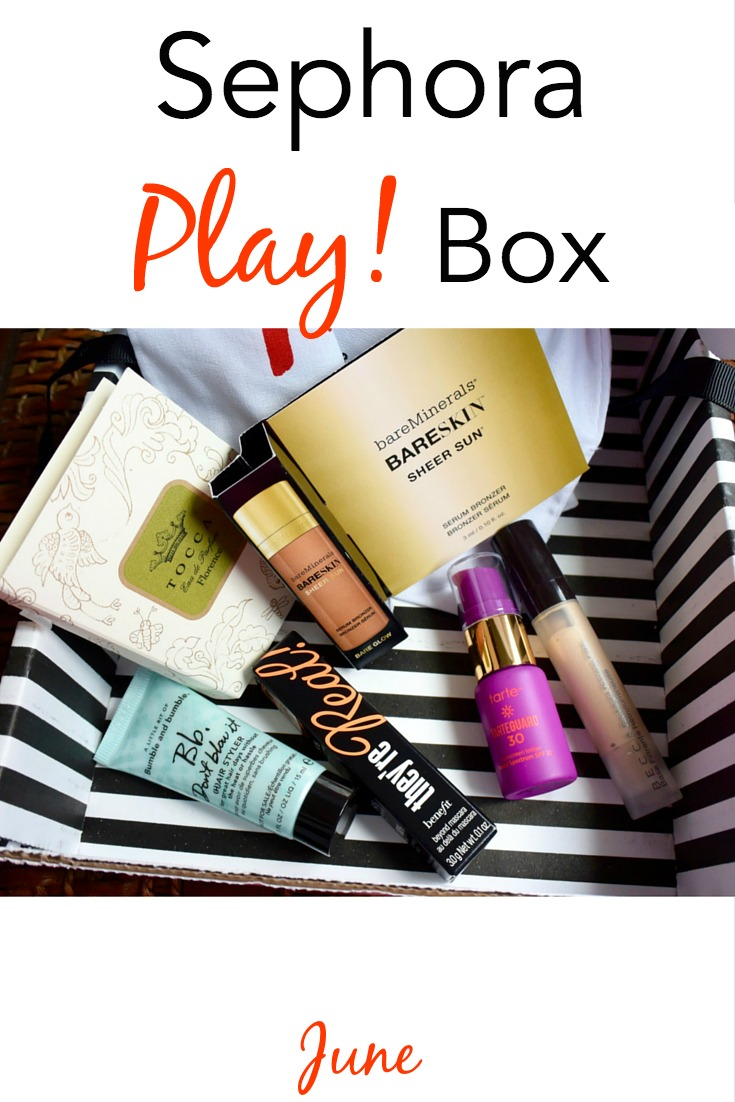 June Sephora Play Box The Beauty Section