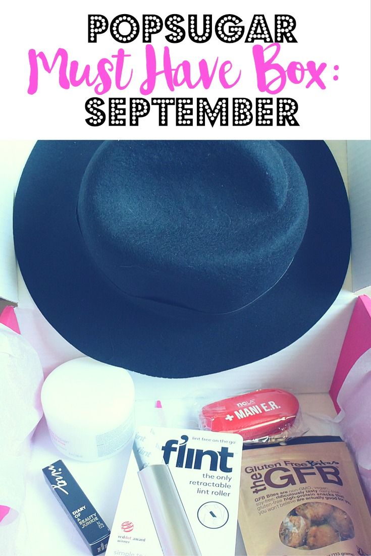 PopSugar Must Have Box: September
