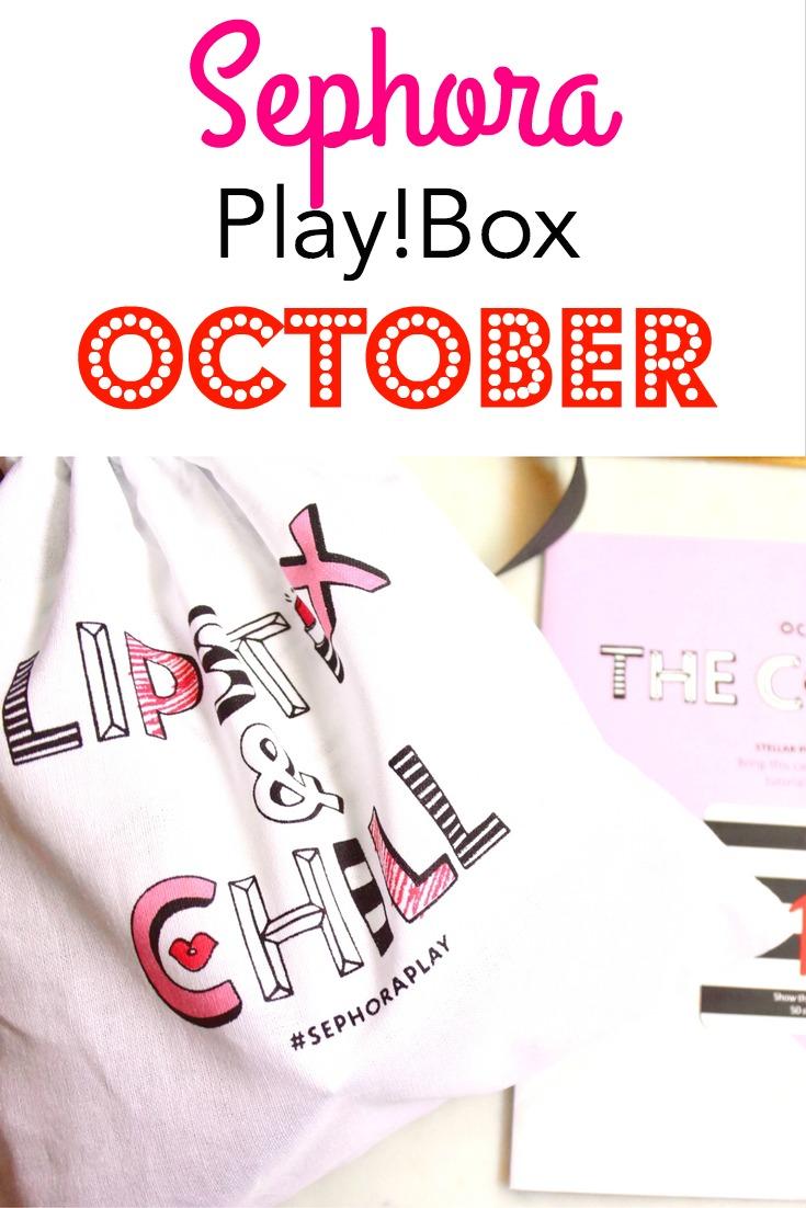 October Sephora Play! Box